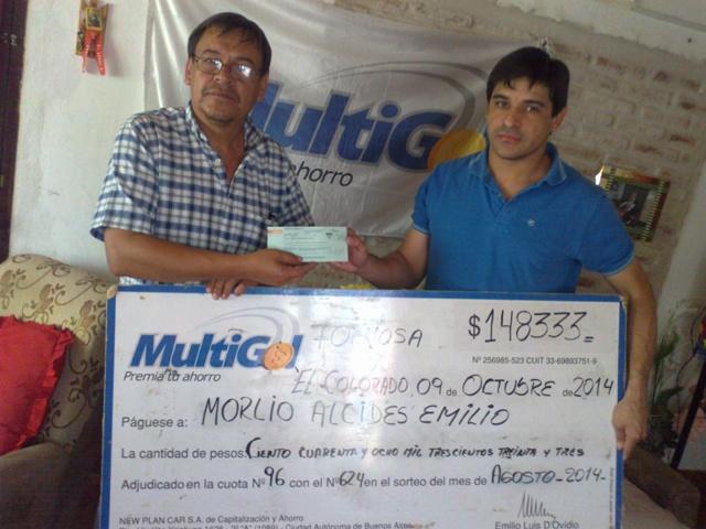 MORLIO ALCIDES EMILIO